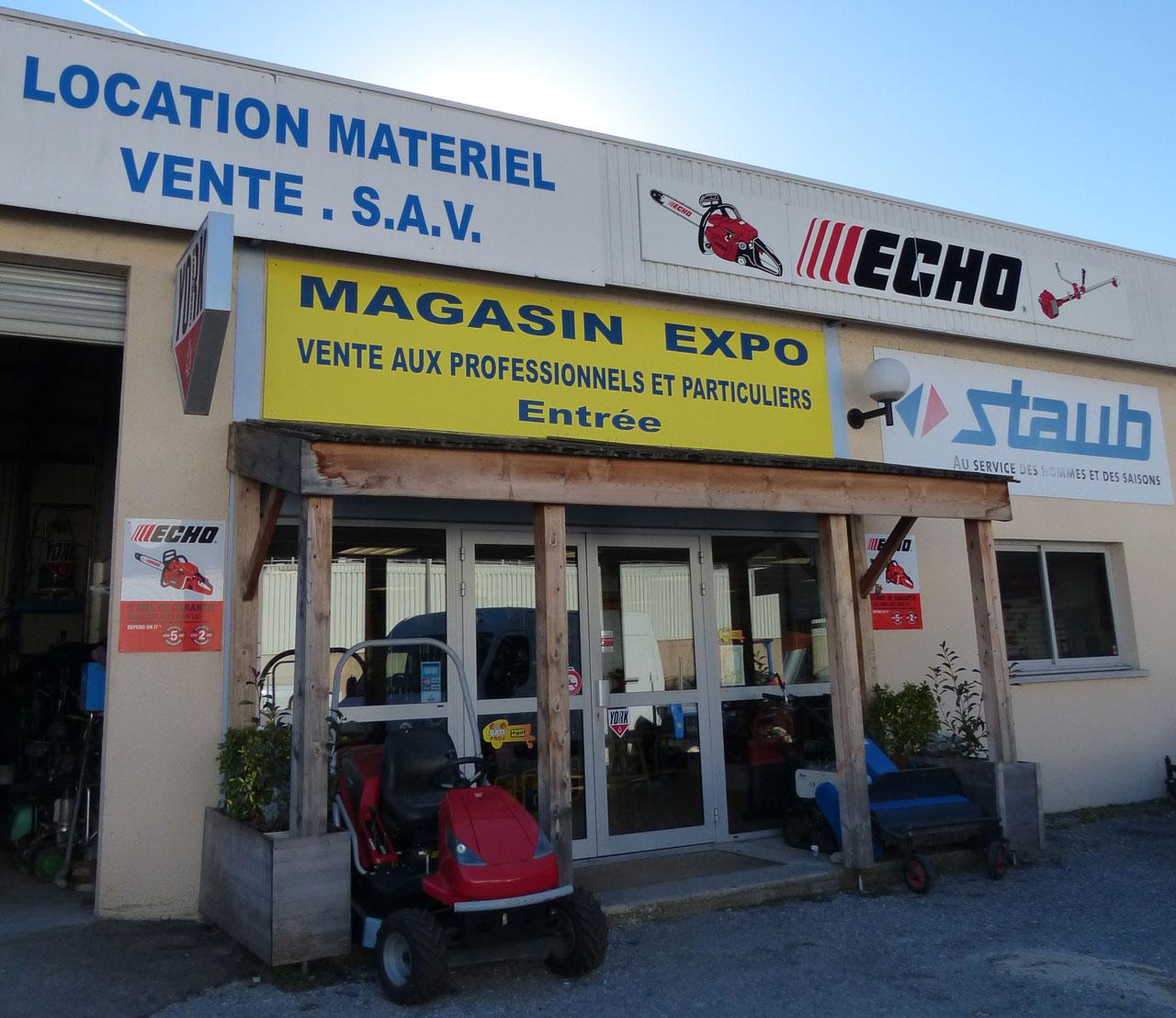 Bau Location - Réparation, location, vente neuf et occasion de matériel de chantier et d'espace vert à Digne-les-Bains